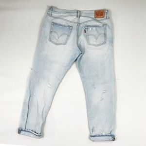 Levi's Jeans - Levi's 501 Orig. Fit High-Waisted Button-Fly Jeans
